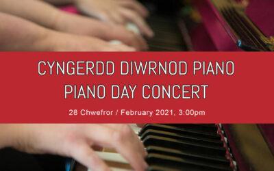 Cyngerdd Diwrnod Piano