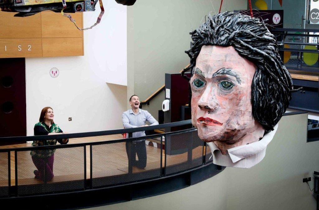 World's biggest Beethoven bust is a massive hit
